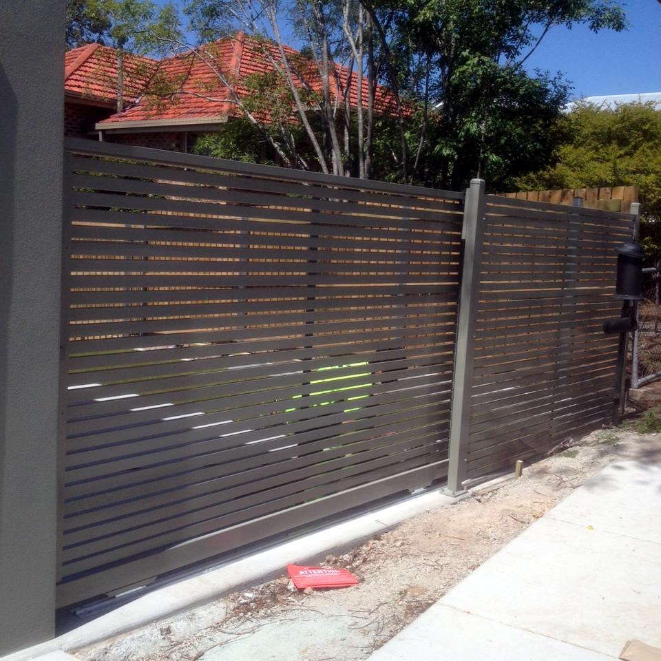 Aluminium Gates Brisbane Electric Gates Brisbane