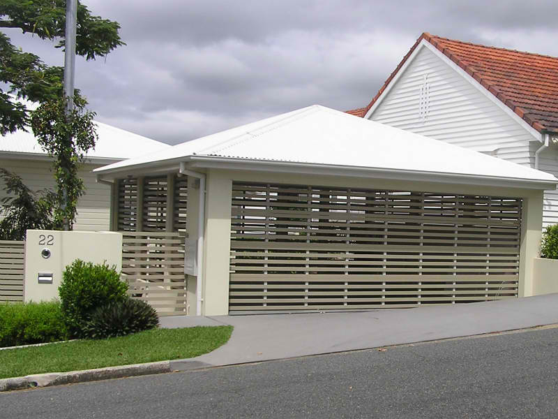 garage doors brisbane - privacy screens