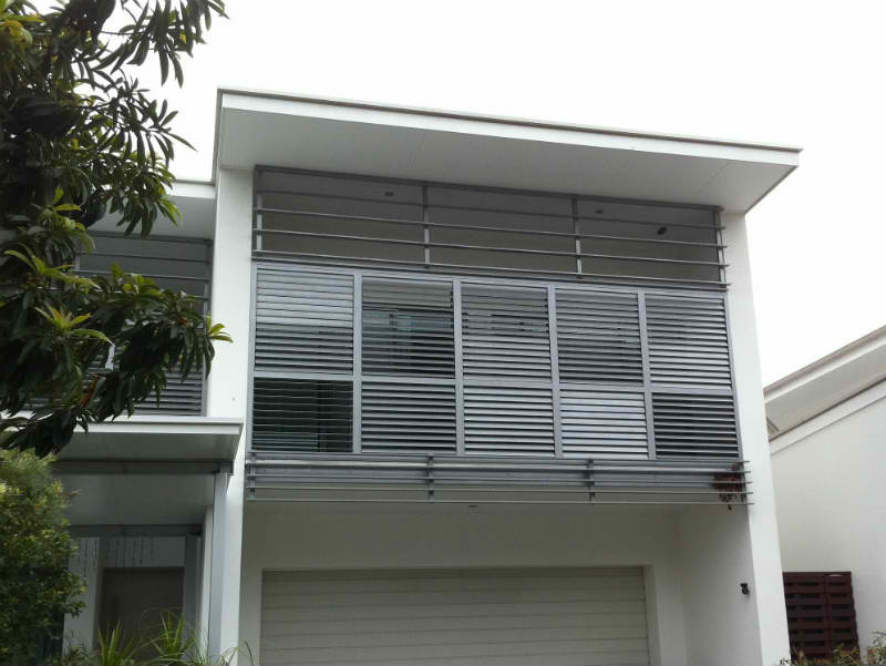 privacy screens brisbane - outdoor shutters