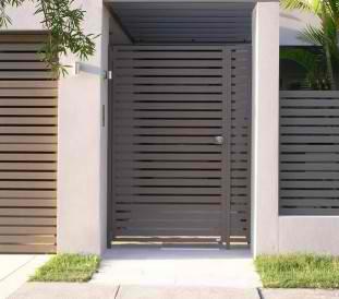 aluminium gates brisbane - australia